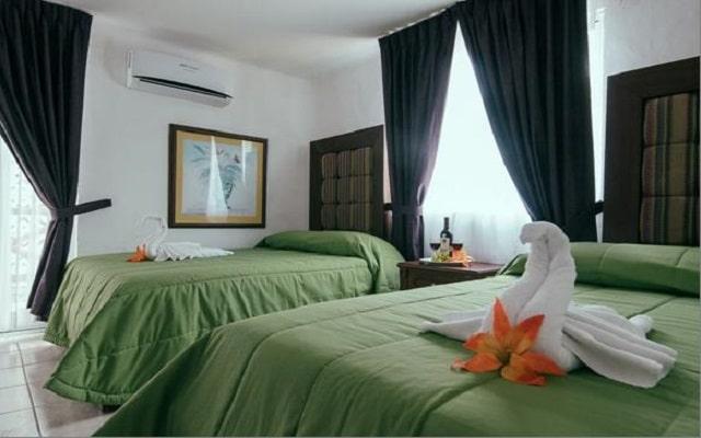 Hotel Cohiba Party, amplias y luminosas habitaciones