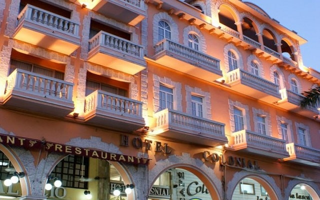 Hotel Colonial de Veracruz en Veracruz Puerto
