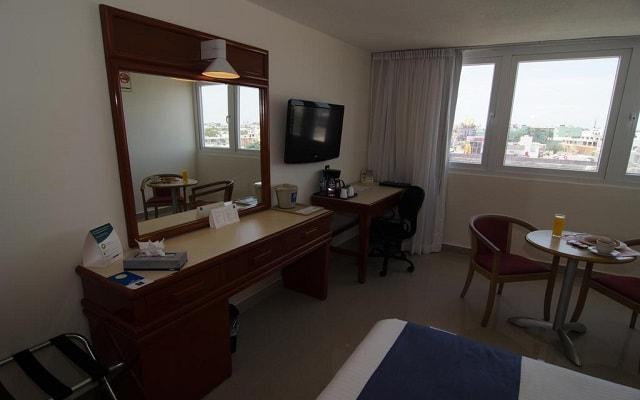 Hotel Comfort Inn Veracruz, habitaciones bien equipadas