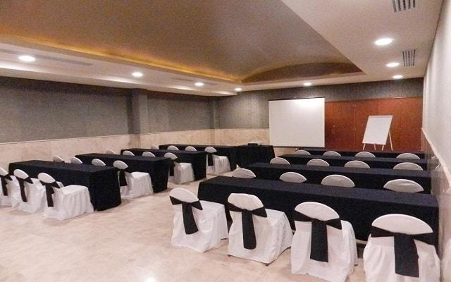 Hotel Comfort Inn Veracruz, sala de conferencias