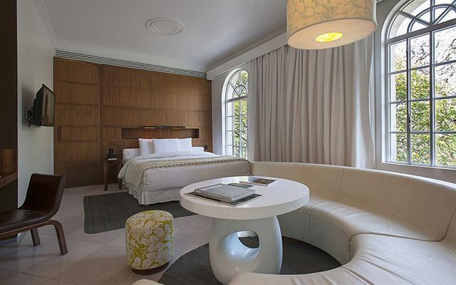 Hotel Condesa DF, habitaciones bien equipadas