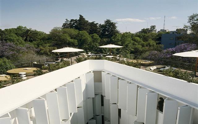 Hotel Condesa DF, Healthy Bar con hermosas vistas