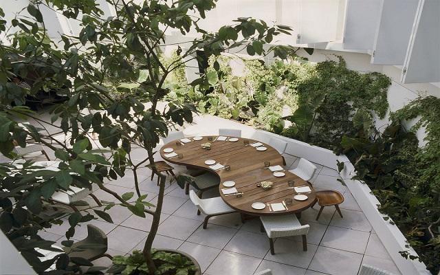Hotel Condesa DF, Restaurante El Patio