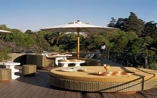 Hotel Condesa DF, hermosa terraza