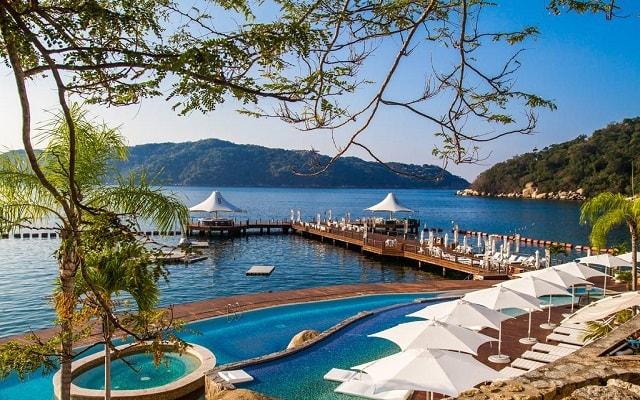 Hotel Condominio B Pichilingue Acapulco, vistas increíbles