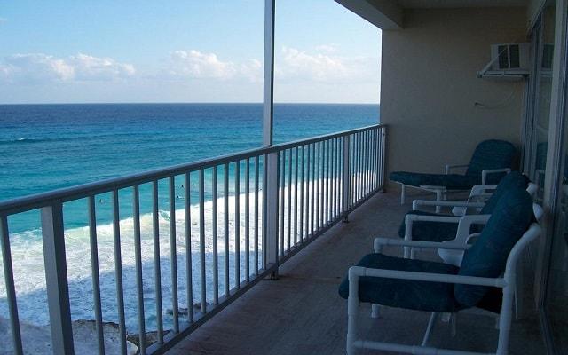 Hotel Condominios Salvia Cancún, vistas hermosas desde el balcón