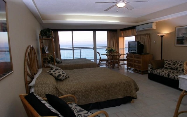 Hotel Condominios Salvia Cancún, habitaciones cómodas ya cogedoras