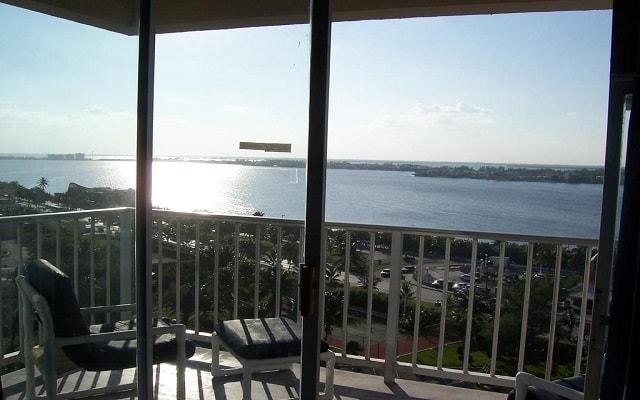 Hotel Condominios Salvia Cancún, habitaciones con vistas a la Laguna Nichupté
