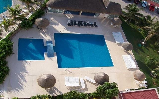 Hotel Condominios Salvia Cancún, vista aérea