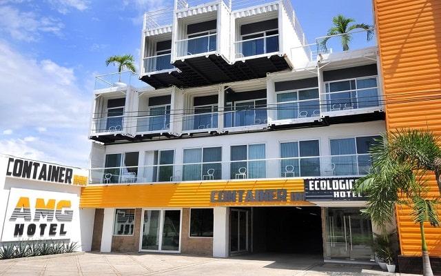 Hotel Container Inn en Marina Vallarta