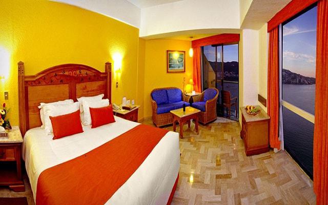 Hotel Copacabana Acapulco Beach, habitaciones bien equipadas