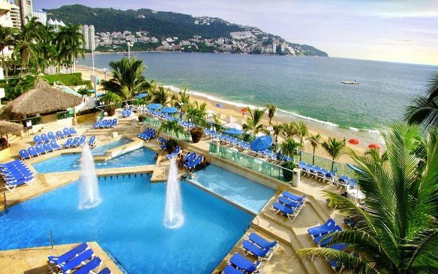 Hotel Copacabana Acapulco Beach en Zona Dorada