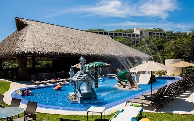 Hotel Coral Blue Huatulco, lugar ideal para que se refresquen los pequeños