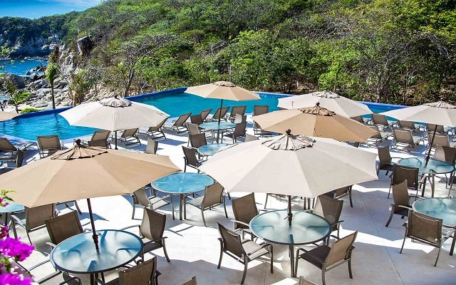 Hotel Coral Blue Huatulco, ambientes únicos
