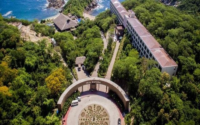 Hotel Coral Blue Huatulco, vista aérea