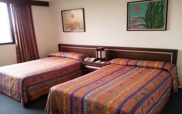 Hotel Corinto, luminosas habitaciones