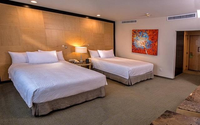 Hotel Courtyard Mexico City Revolución, habitaciones cómodas y acogedoras