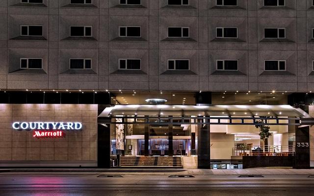 Hotel Courtyard Mexico City Revolución, buena ubicación