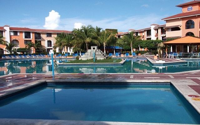 Hotel Cozumel & Resort, chapoteadero
