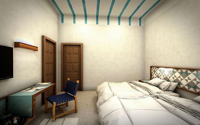 Hotel Caribe, habitaciones con todas las amenidades