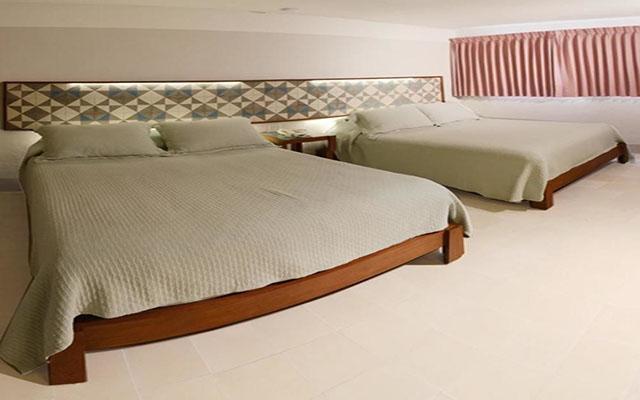 Hotel Caribe, habitaciones cómodas y acogedoras