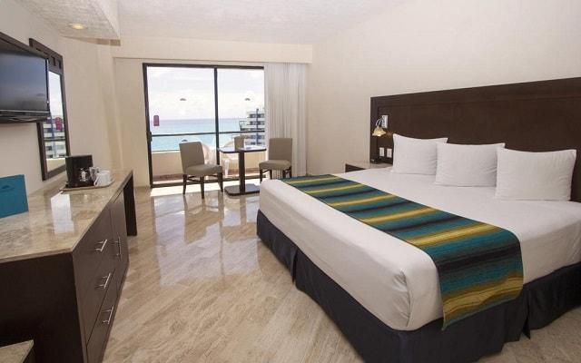 EHotel Crown Paradise Club Cancún, habitaciones cómodas y acogedoras