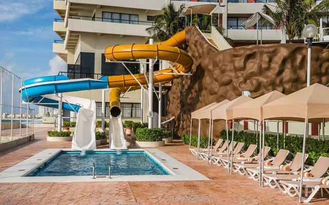 Hotel Crown Paradise Club Cancún, escenarios agradables