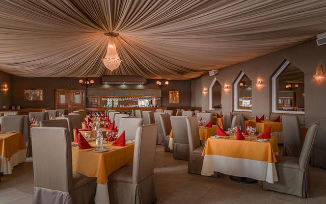 Hotel Crown Paradise Club Puerto Vallarta, Restaurante Sans Soucis