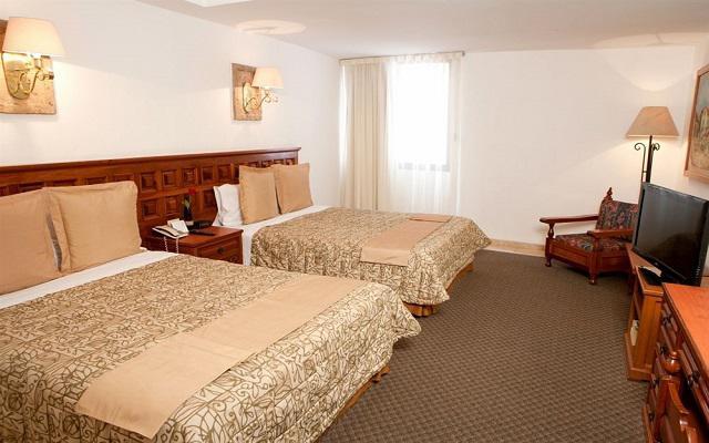 Hotel De Mendoza, amplias y luminosas habitaciones