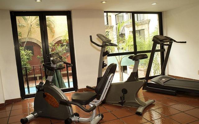 Hotel De Mendoza, gimnasio bien equipado