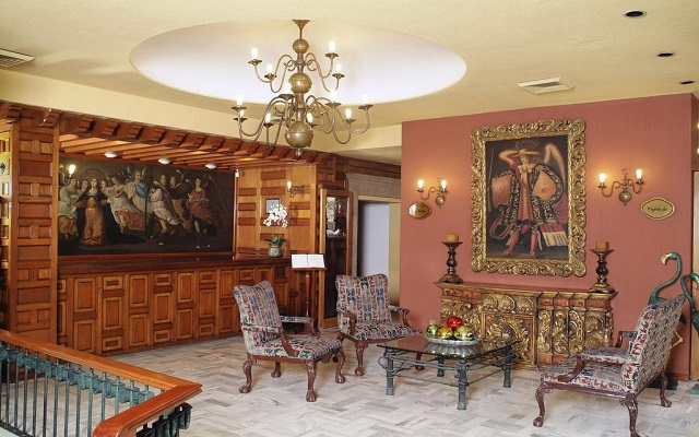 Hotel De Mendoza, lobby
