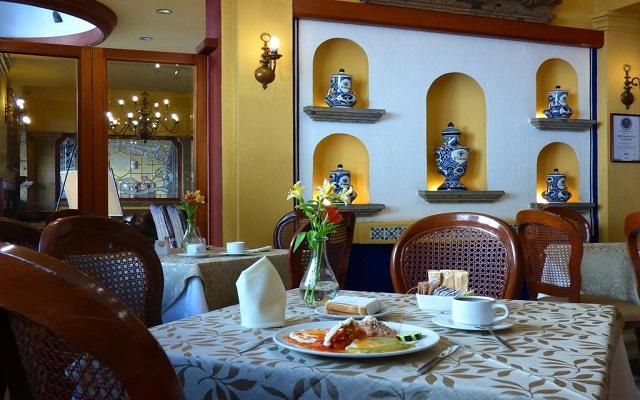 Hotel De Mendoza, escenario ideal para tus alimentos