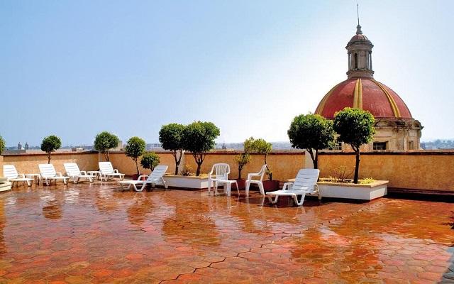 Hotel De Mendoza, disfruta de una linda vista desde la terraza