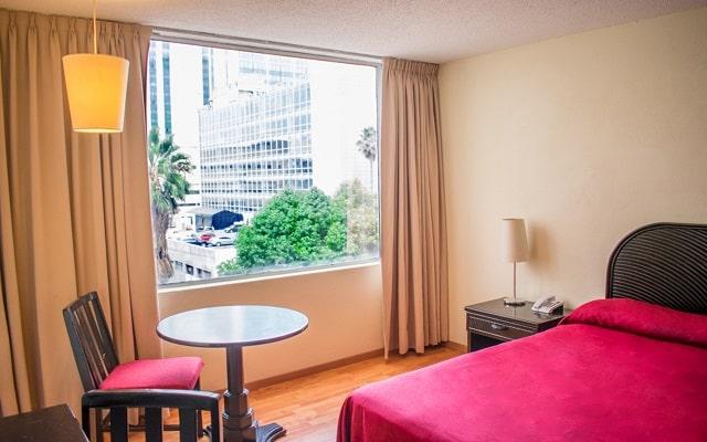 Hotel Del Ángel Reforma, habitaciones bien equipadas