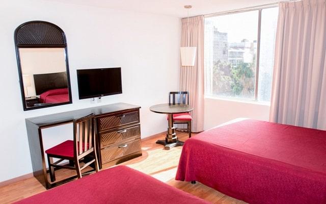 Hotel Del Ángel Reforma, amenidades de calidad