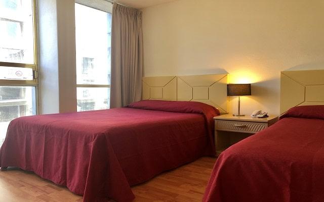 Hotel Del Ángel, habitaciones con todas las amenidades