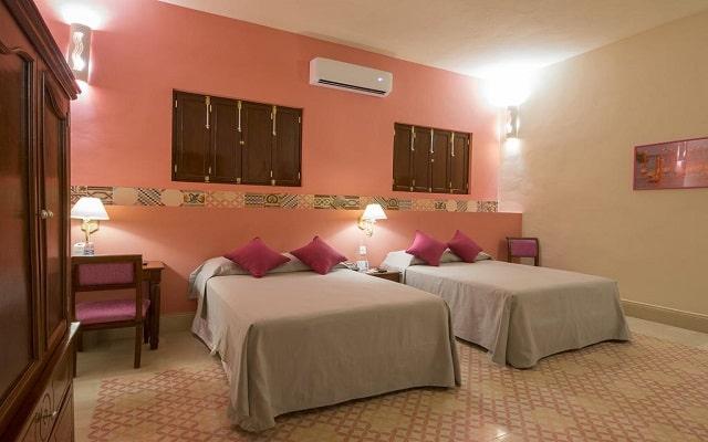 Hotel del Gobernador, amplias y luminosas habitaciones