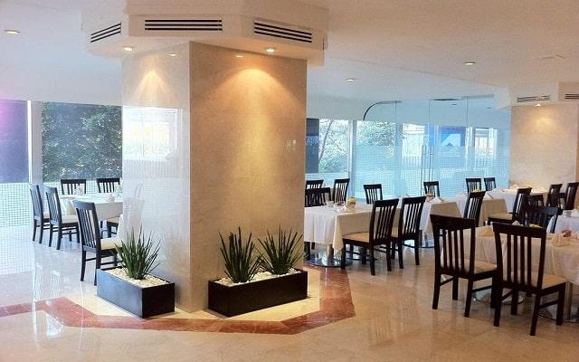 Hotel del Prado, escenario ideal para tus alimentos