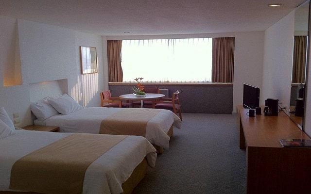 Hotel del Prado, amplias y luminosas habitaciones