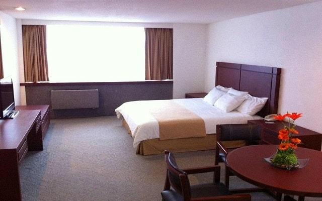 Hotel del Prado, habitaciones con todas las amenidades