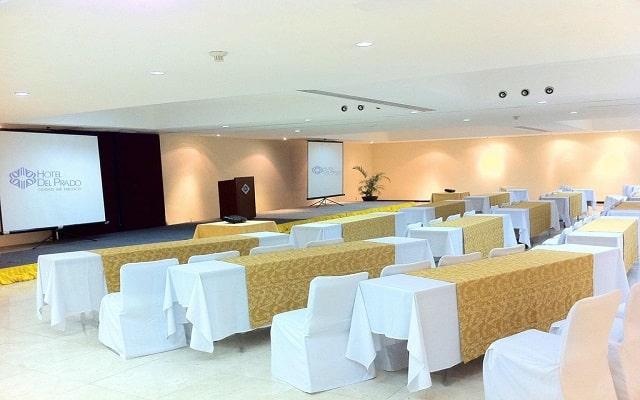 Hotel del Prado, salón de eventos