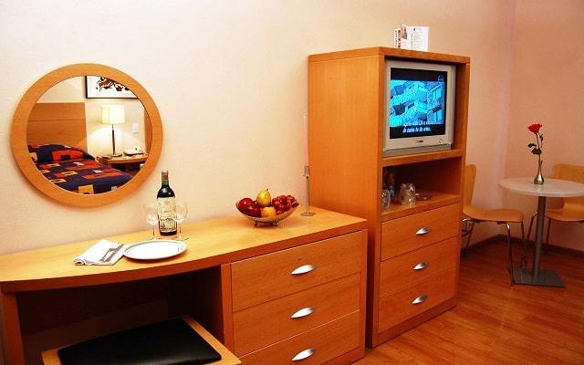 Hotel del Principado, habitaciones bien equipadas