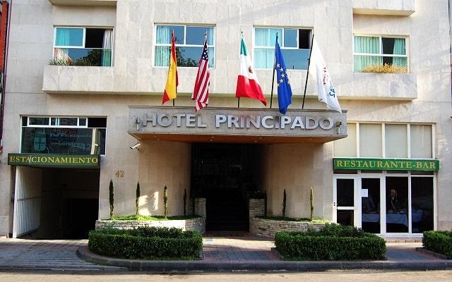 Hotel del Principado en Insurgentes Centro