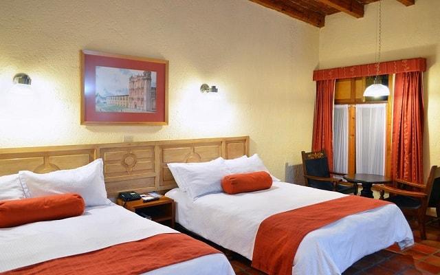 Hotel Diego de Mazariegos, habitaciones bien equipadas