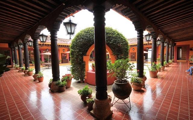 Hotel Diego de Mazariegos, propiedad estilo colonial