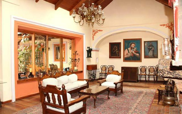 Hotel Diego de Mazariegos, lobby
