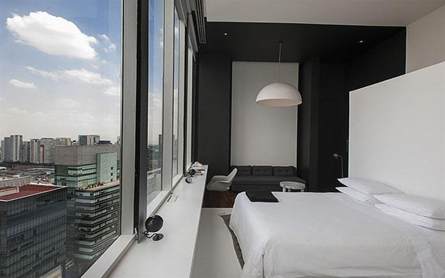 Hotel Distrito Capital, amplias y luminosas habitaciones