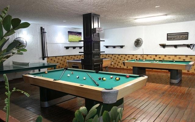 Hotel Don Pelayo Pacific Beach, salón de juegos
