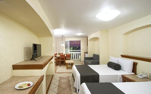 Hotel Don Pelayo Pacific Beach, habitaciones tipo estudio