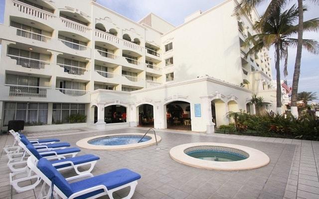 Hotel Don Pelayo Pacific Beach, relájate en el jacuzzi